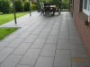großformatige Betonplatten, kunststoffbeschichtet, Format 30cmx80cm